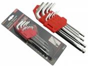 Šešiakampių raktų rinkinys 180mm (rutu...