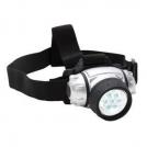 Žibintuvėlis  9 LED (dedamas ant galvos)