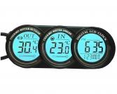 Laikrodis su vidaus ir lauko termometru  '...