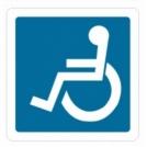 Magnetinis lipdukas ''Neįgalusis''